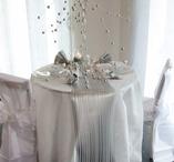 Plain round table cloth vit