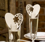 With Love Place cards Ivory 10 pcs