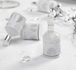 Party Poppers Silver 20 st - Vintage Romance